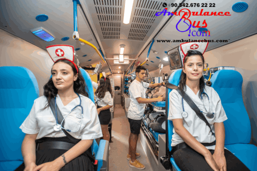 hospital bus emergency mobile clinic